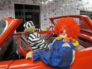 """""""Achei divertido e comprei"""", contou Dezer sobre o carro com duas frentes. Foto de Carla Guarilha."""
