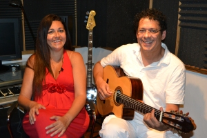 Rose Max & Ramatis recebem Direto de Miami em seu estúdio, montado dentro de sua casa na Flórida.