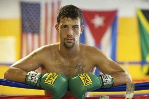 Michael Oliveira na sua primeira luta contra Popó. Foto de Jade Matarazzo.