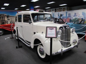 1949 Austin Taxi, US$35,000.