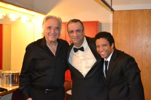 Maestro João Carlos Martins, Carlos Borges e o tenor Jean William