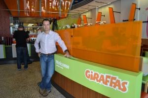 João Barbosa, CEO e presidente do Giraffas USA