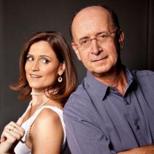 Antonio Adolfo e Carol Saboya. Foto de Rodrigo Lopes.