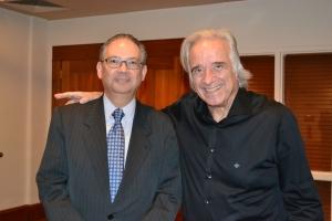 Maestro com Embaixador Hélio Vitor Ramos Filho, cônsul-geral do Brasil em Miami