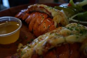 Lagosta é um dos pratos favoritos do cardápio