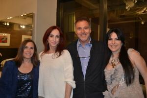 Jaye Abbate, Camilla Matarazzo, Tony Abbate e Jade Matarazzo. Foto de Carla Guarilha