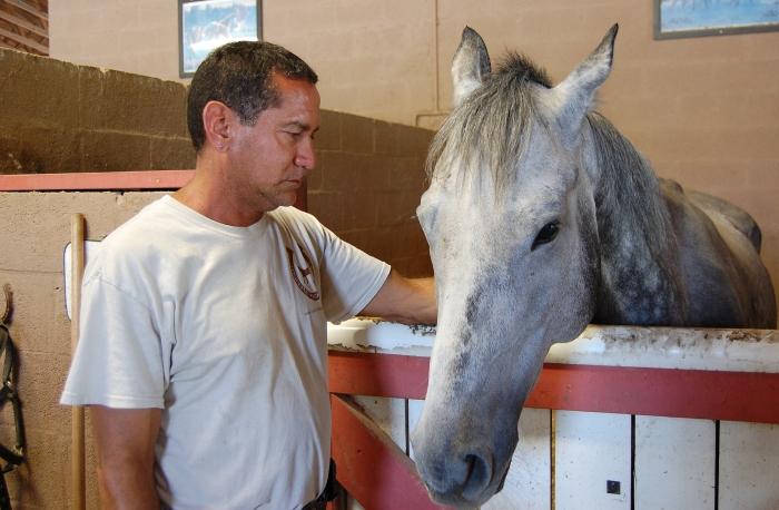 Victor Cutino, o idealizador do local: paixão por cavalos o levou a deixar carreira executiva (Foto: Caio Ferraz)
